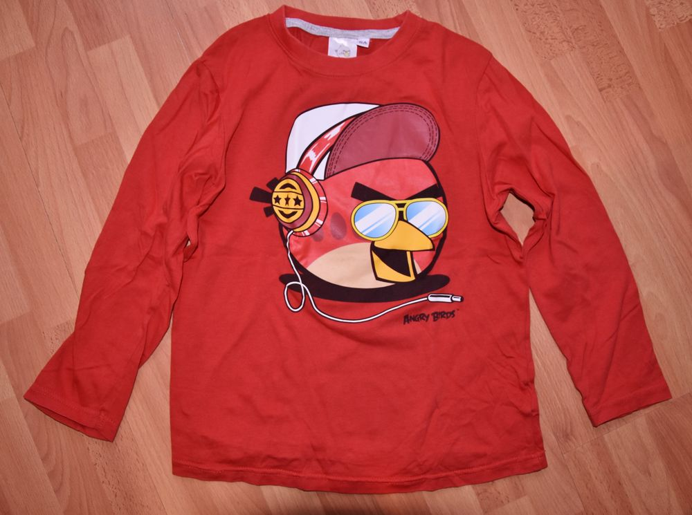 8 ans. Tee shirt Angry Birds. Très bon état.  3 Gujan-Mestras (33)