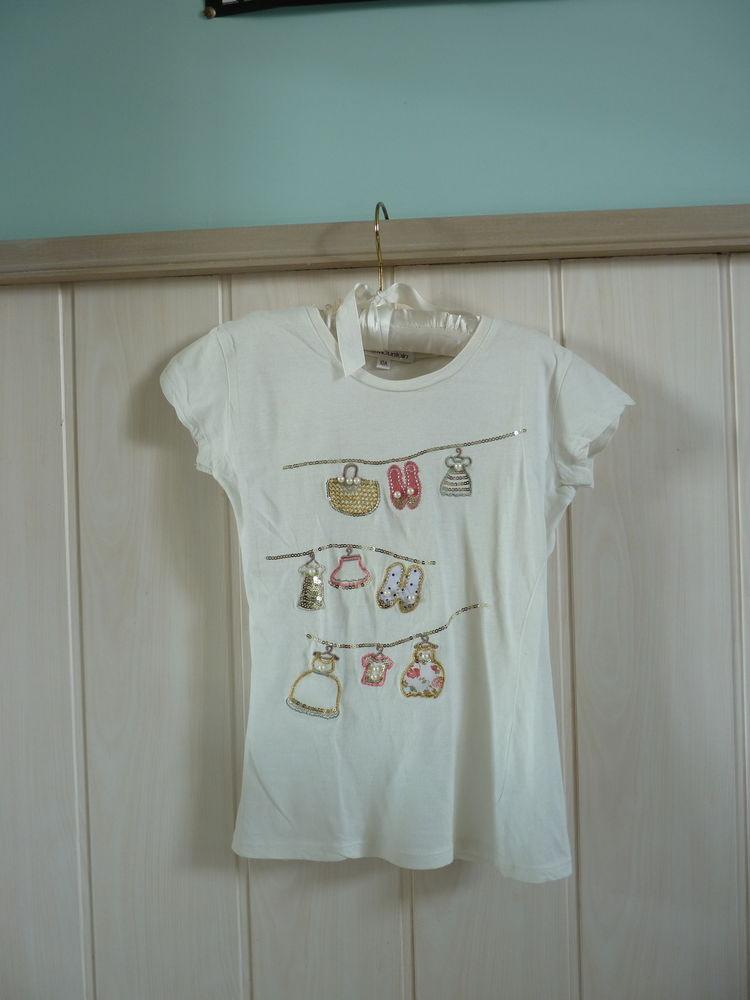 t-shirt best mountain 10 ans fille Neuf blanc 15 Brienne-le-Château (10)