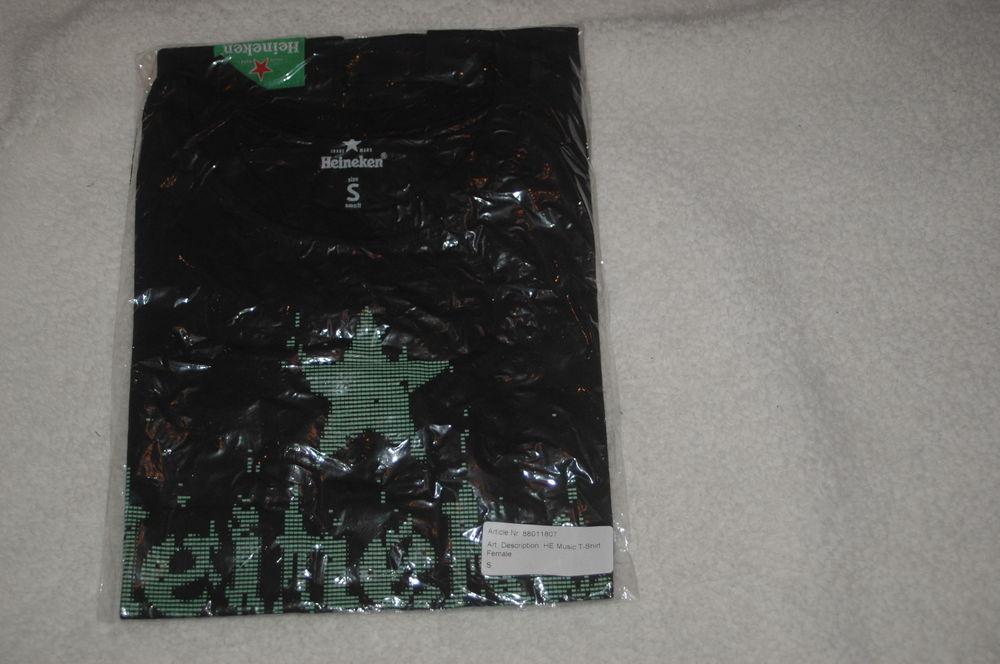 Tee shirt  bière Heineken 5 Essert (90)