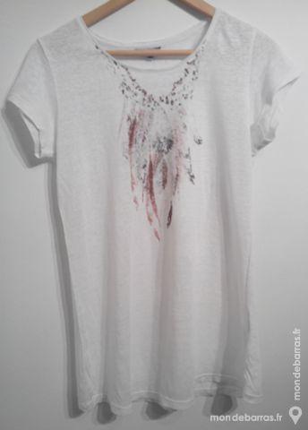 Tee-shirt - blanc cassé - femme 3 Pont-Péan (35)