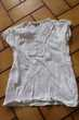 T-shirt blanc in extenso 6 ans