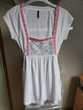Tee-shirt blanc, gris, rouge Naf Naf, taille S