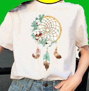 T-Shirt blanc imprimé d'un Carillon Éolien (NEUF) 11 Lille (59)