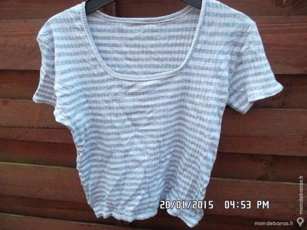 tee shirt bleu-blanc t.12 ans kiki60230 1 Chambly (60)