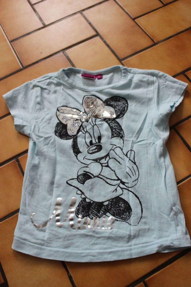 T-shirt bleu ciel minnie 6 ans 5 Wervicq-Sud (59)