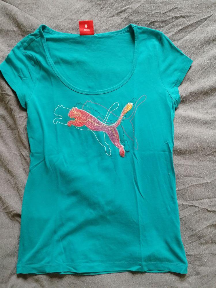 T Shirt bleu femme  5 Plœuc-sur-Lié (22)