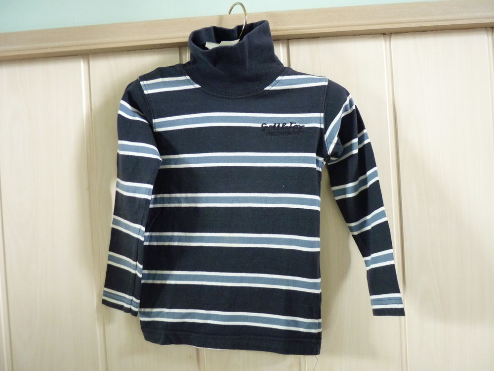 t-shirt bleu garçon 3 ans tbe  1 Brienne-le-Château (10)