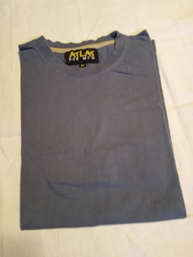 Tee shirt bleu taille M atlas for men Vêtements