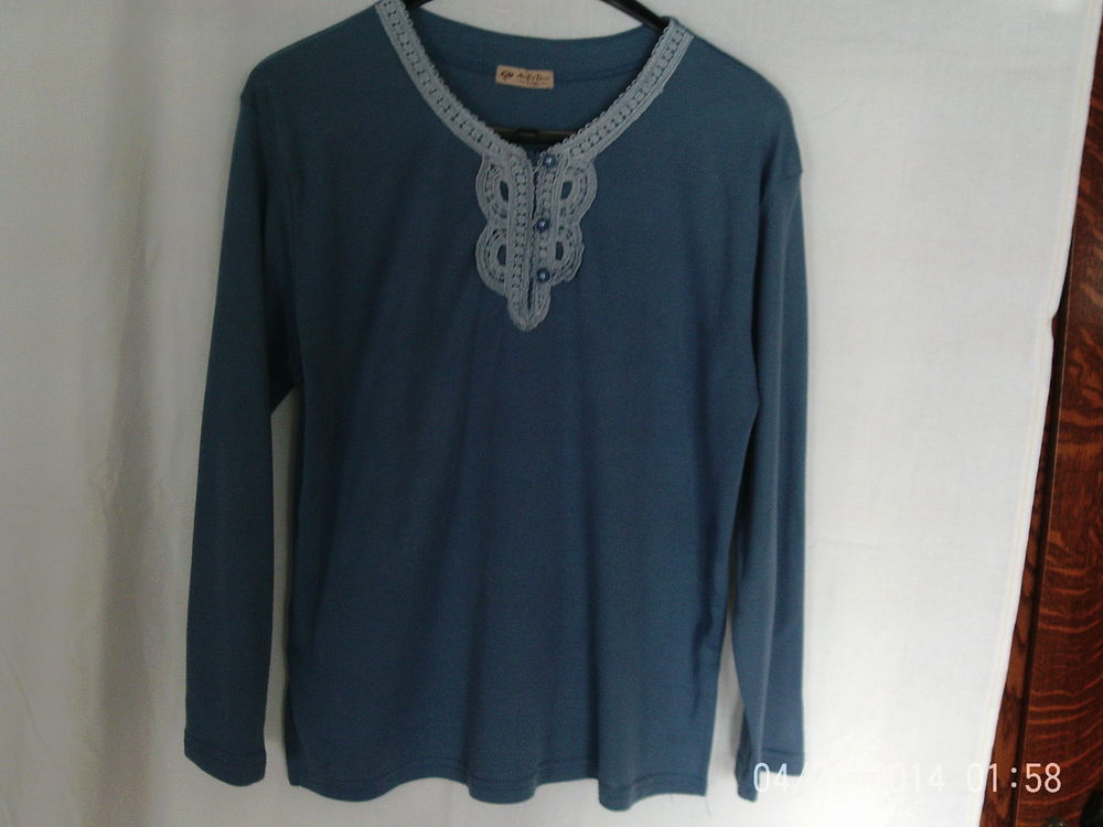 tee shirt bleu roy 0 Carvin (62)