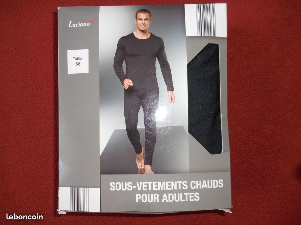 Tee- shirt+ caleçon homme T: 56 NEUFS 10 Calais (62)