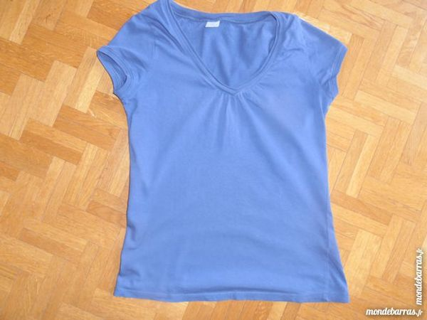 Tee-shirt Camaieu bleu (V6) 2 Tours (37)