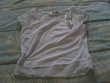 Tee shirt de couleur blanc Sainte-Maure-de-Touraine (37)