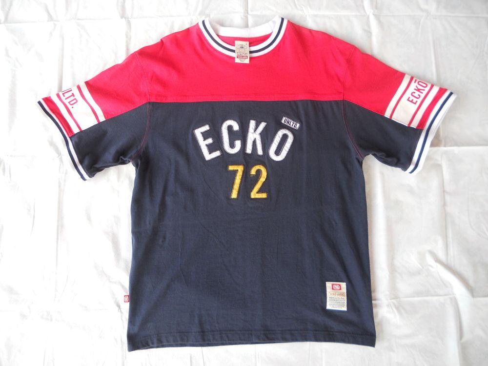 T-shirt Ecko rouge et bleu taille L 8€ 8 Le Lamentin (97)