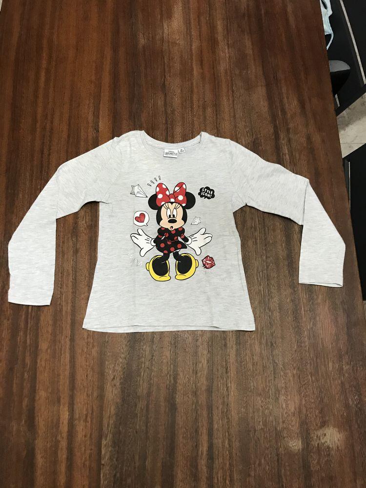Tee shirt enfant fille manches longues   Disney   3 Saleilles (66)