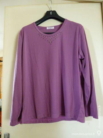 Tee shirt femme couleur parme 11 Goussainville (95)