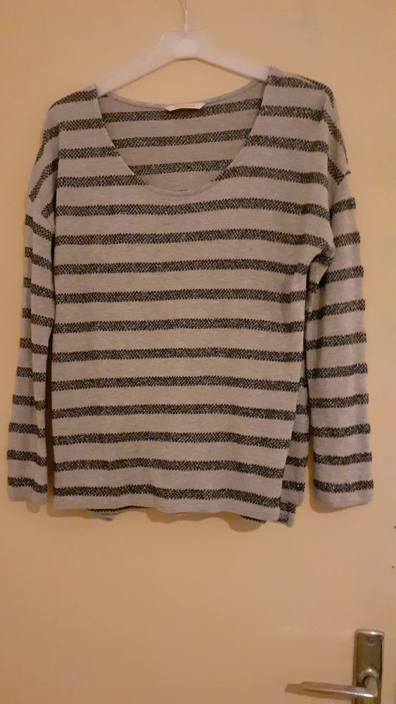 Tee-shirt femme manches longues taille 1 4 Grisolles (82)