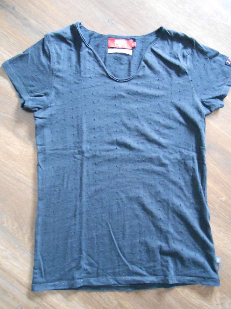 Tee shirt femme noir Le temps des cerises Taille M Vêtements