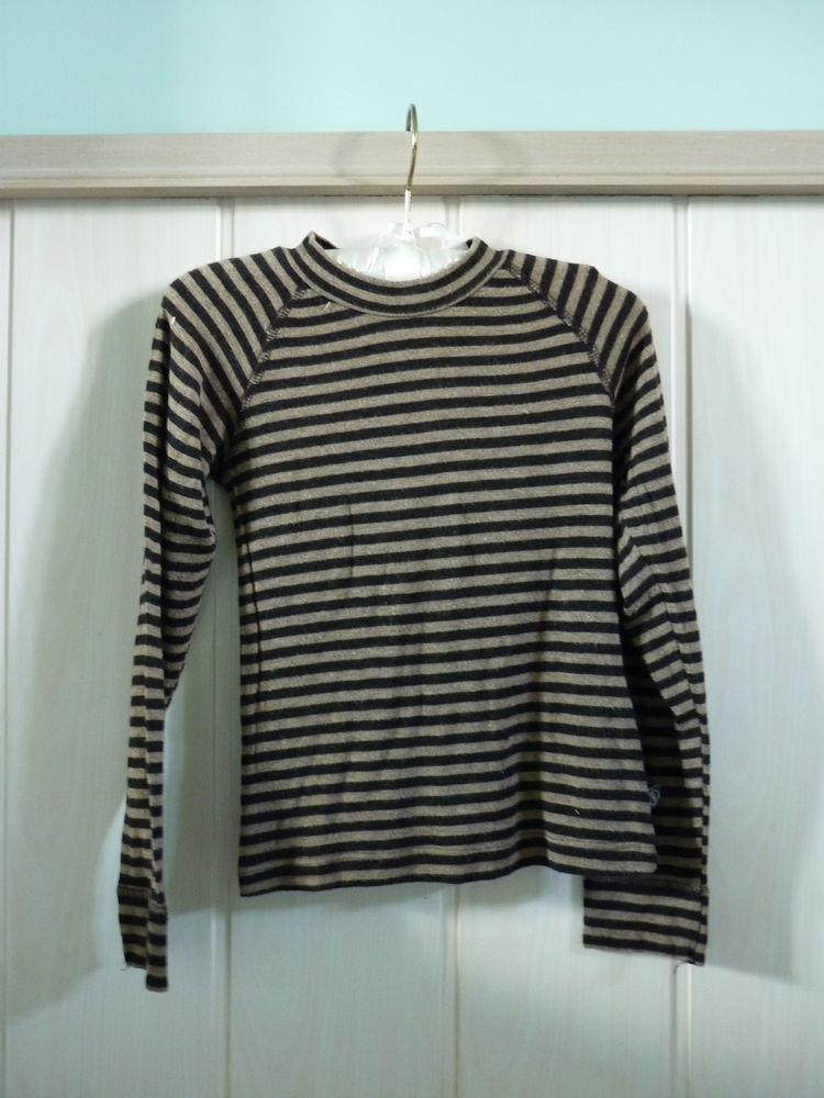 T-shirt Fille Jean Bourget 6 ans marron noir tbe 10 Brienne-le-Château (10)