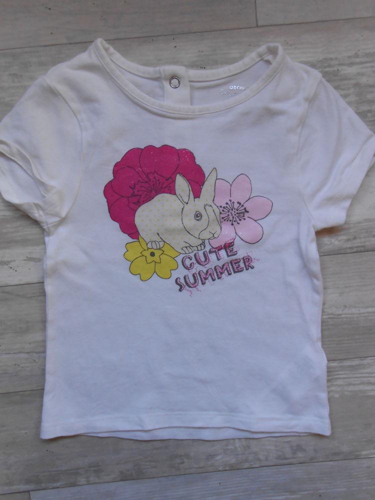 Tee shirt fille MC 23 mois Orchestra TBE (2) Vêtements enfants