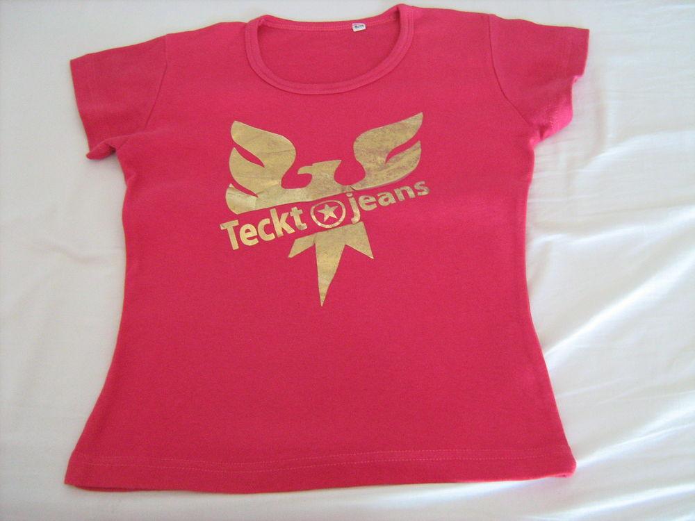 Tee-shirt fuchsia impression 4 Cannes (06)