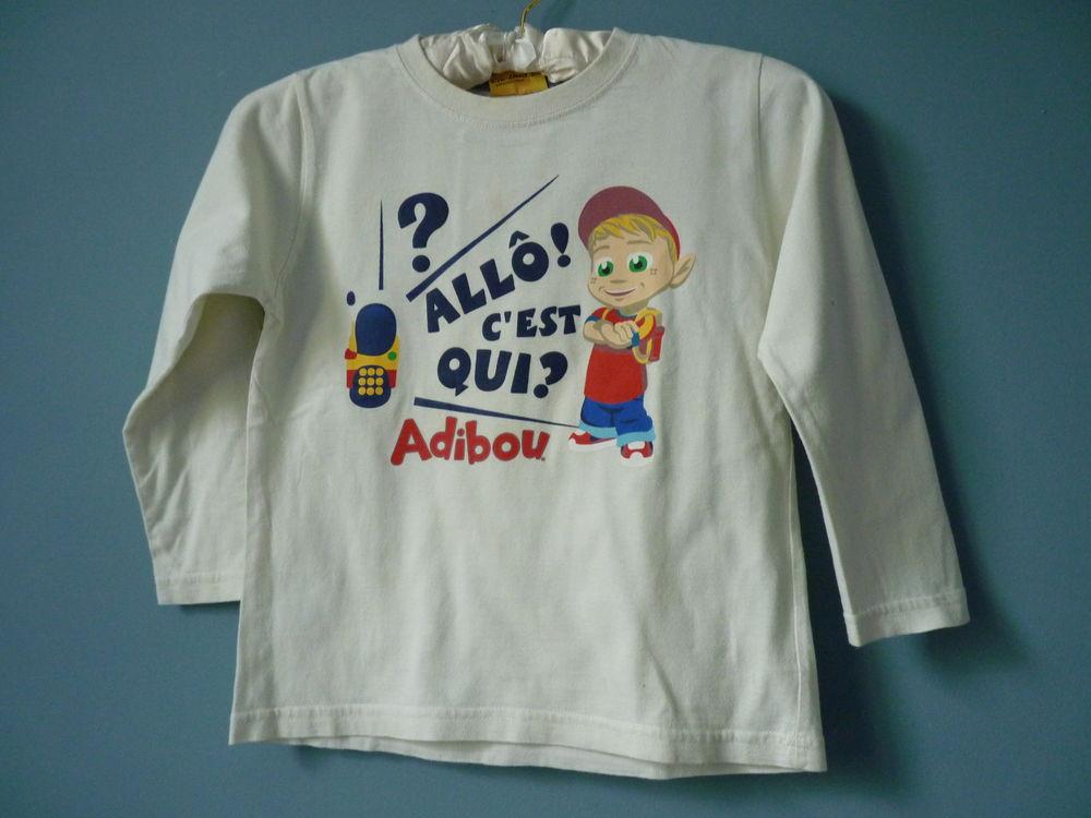 t-shirt garçon 6 ans adibou tbe  1 Brienne-le-Château (10)