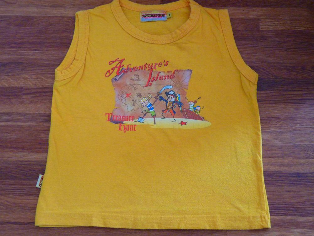 T-shirt Gémo garçon 3 ans jaune TBE 1 Brienne-le-Château (10)