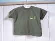 T-shirt Gémo kaki garçon bébé 2 ans tbe
