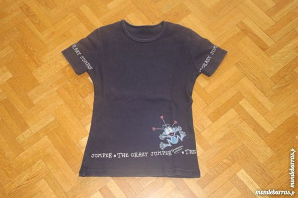 Tee-shirt grenouille fille 10 ans (V7) 2 Tours (37)