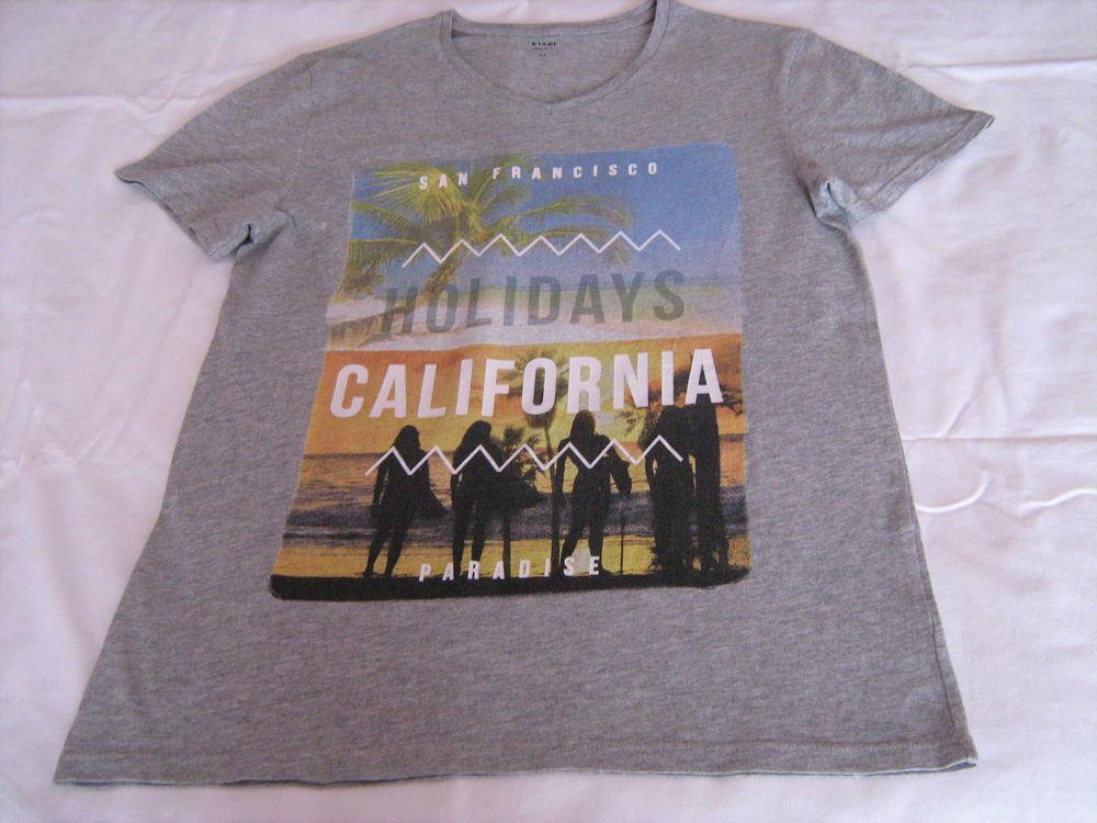 Tee-shirt gris California 4 Cannes (06)