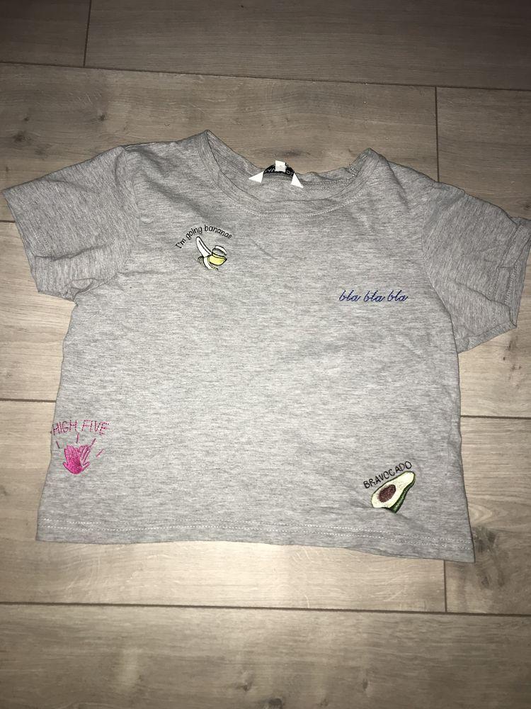 Tee shirt gris shiné Brave Soul 4 Toulouse (31)