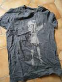 Tee-shirt gris 3 Kervignac (56)