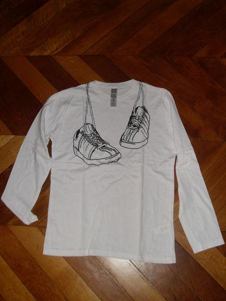 T shirt homme blanc a manches longues  4 Vertaizon (63)