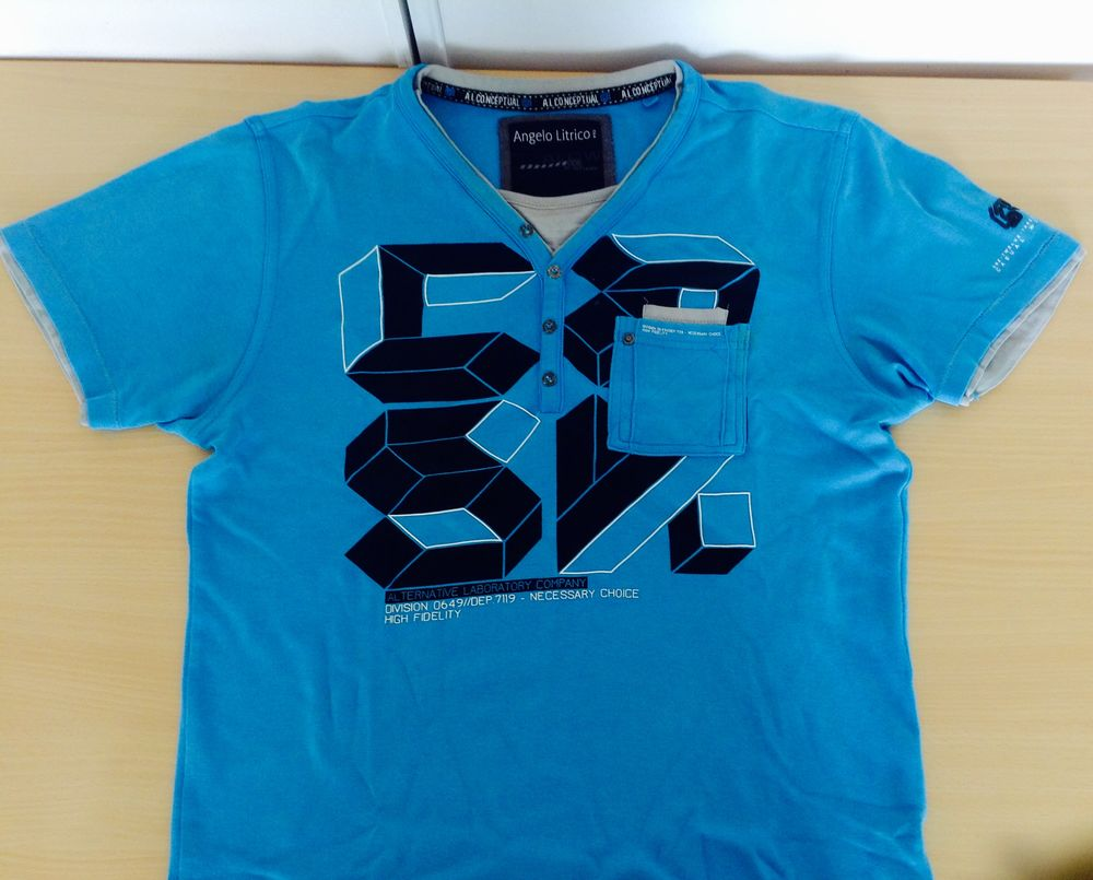 T -shirt homme  4 Nice (06)