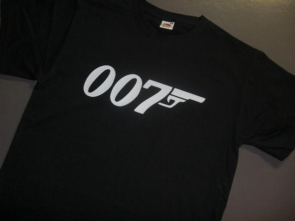 T-shirt 007, James Bond, NEUF. Vêtements