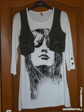 Tee-shirt long avec boléro 5 Cramont (80)