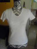 tee shirt manches courtes BLANC NEUF TAILLE 34/36 4 Lyon 5 (69)