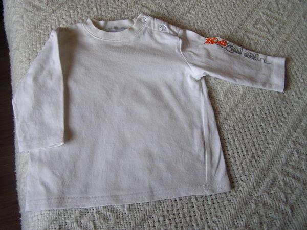 T-SHIRT manches longues, bébé 6 mois, marque KIMBALOO 2 Brouckerque (59)