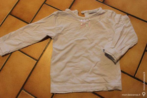 T-shirt manches longues bleu clair 4 Wervicq-Sud (59)
