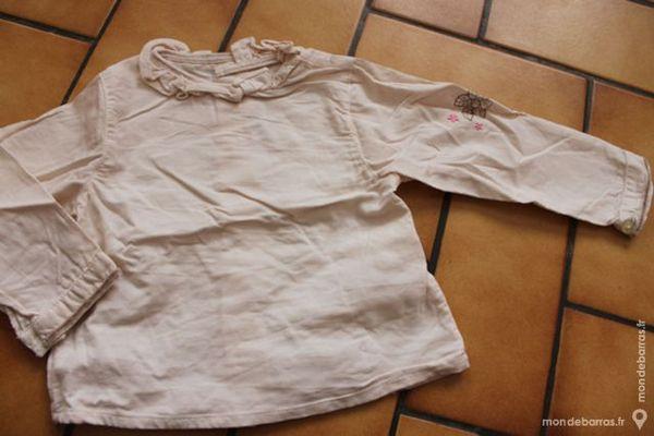 T-shirt manches longues velours 1 an Vêtements enfants