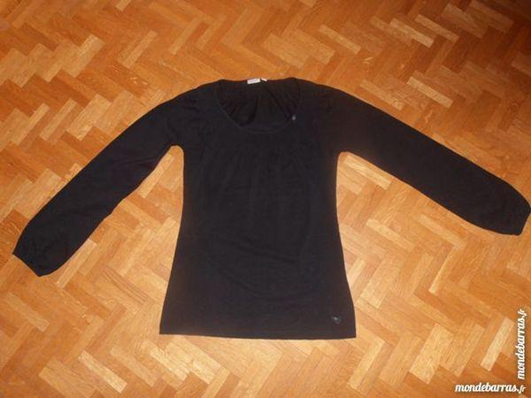 Tee-shirt manches longues noir (V6) 10 Tours (37)