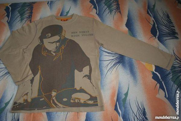 T-shirt manches longues 12 14 ans Garçon MIROTON 3 Tournefeuille (31)