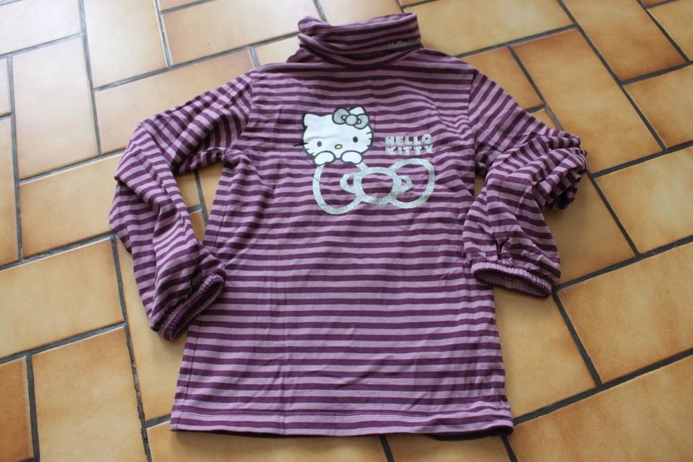 T-shirt manches longues col roulé hello kitty 5/6 ans 5 Wervicq-Sud (59)
