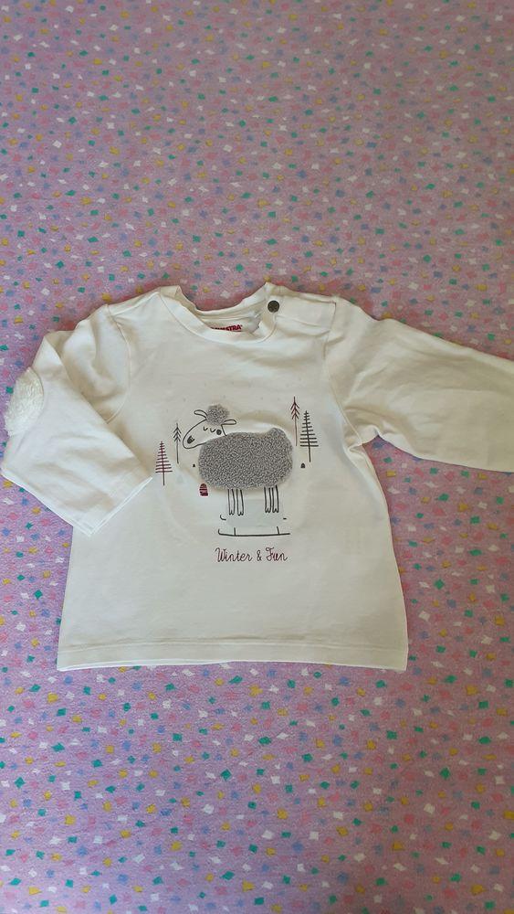 Tee-shirt manches longues garçon 12 mois 2 Grisolles (82)