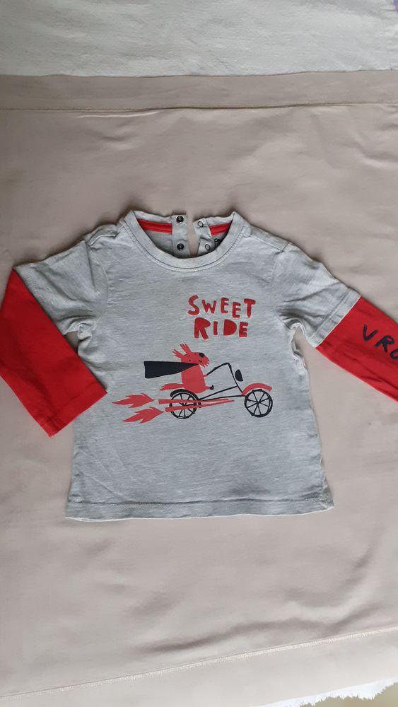 Tee-shirt manches longues garçon 18 mois 2 Grisolles (82)