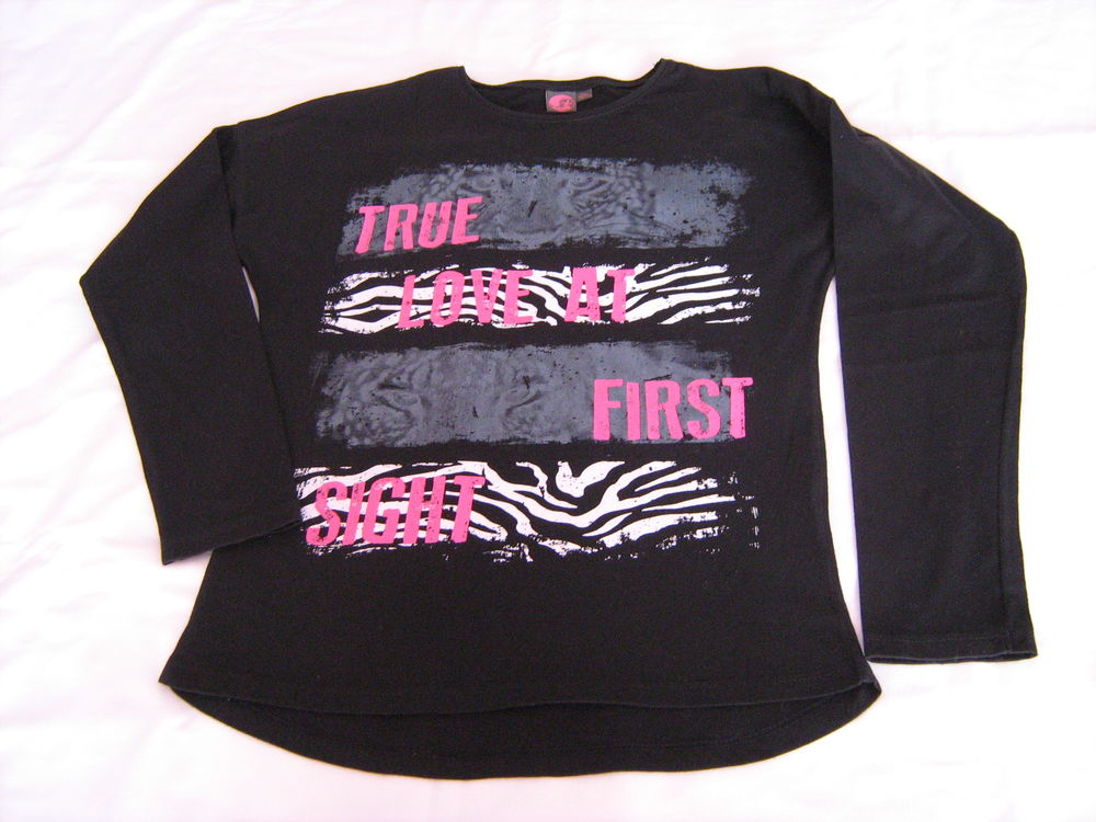 Tee-shirt manches longues fille 4 Cannes (06)