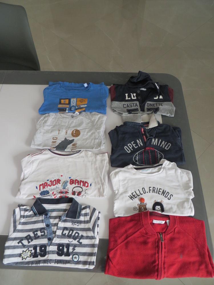 7 tee shirt Manches longues, 4gilets et 4 tee shirt MC  15 Niort (79)