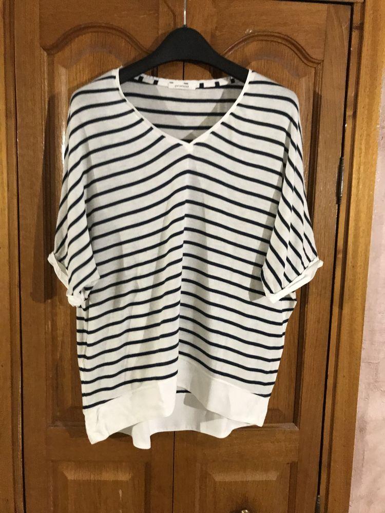 Tee shirt marin femme   Promod   6 Saleilles (66)