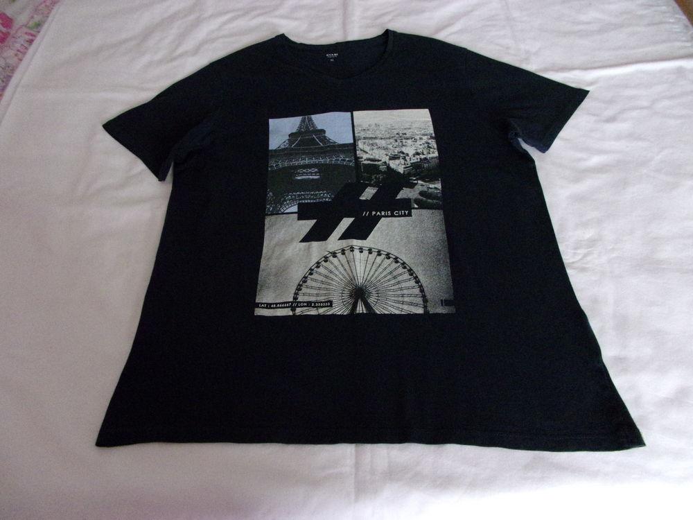 Tee-shirt marine impression 4 Cannes (06)