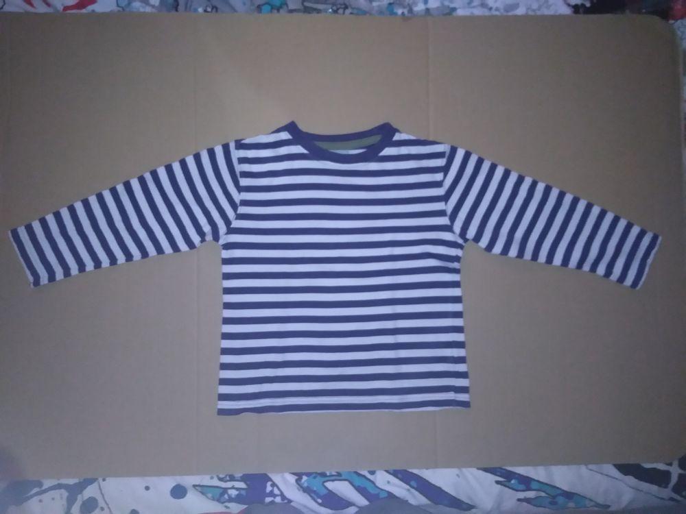 Tee-shirt marinière 7/8 ans 3 Semoy (45)