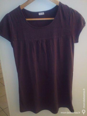 Tee-shirt marron - femme 2 Pont-Péan (35)
